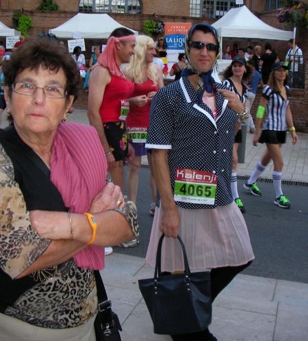 1ère corrida pédestre de Montech (82), 24/08/2012 Michellelaffitte