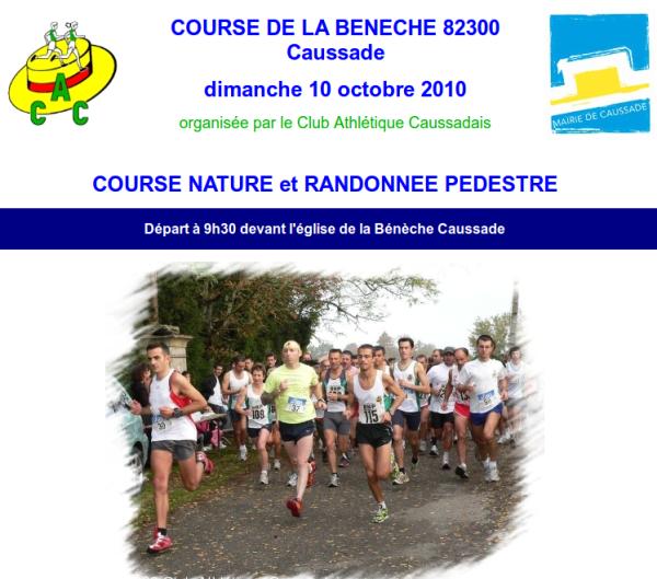 Course de La Bénèche (Caussade, 82) le 10/10/2010 Beneche